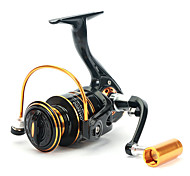Fishing Reel Spinning Reels 5.2:1 13 Ball Bearings Right-handed General Fishing-GH4000