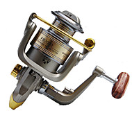 Fishing Reel Spinning Reels 5.2:1 12 Ball Bearings Right-handed General Fishing-FB4000