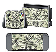 B-Skin® Dollar Camouflage Cover Sticker For Nintendo Switch Novelty Portable
