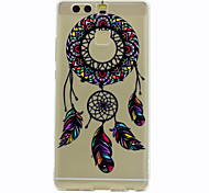 For Huawei Mate 9 P9 Dream Catcher Pattern Soft TPU Material Phone Case for P9 Lite Honor 5C