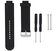 For Garmin Forerunner Replacement 230/235/630/220/620/735 Silicone Universal Replacement Wrist Watchband Strap