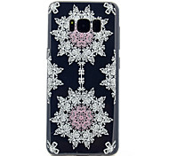 For Samsung Galaxy S8 S8 Plus Lace Printing Pattern Soft TPU Material Phone Case