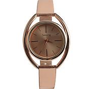 Mulheres Relógio de Moda Quartzo / Rosa Folheado a Ouro PU Banda Casual Ouro Rose Ouro Rose