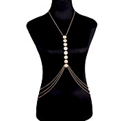 Women's Body Jewelry Body Chain Natural Fashion Bohemian Gem Alloy Jewelry For Special Occasion Gift Casual