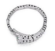 Women's Chain Bracelet Jewelry Friendship Fashion Crystal Alloy Heart Cut Jewelry For Birthday Gift Valentine 1pc