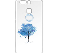 For Huawei P9 Pattern Case Back Cover Case Blue Tree Soft TPU for  Huawei P9 / P9 Lite / P8 / P8 Lite