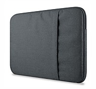 """Sleeve for MacBook Pro 13"""" Solid Color Textile Material Suit Fabric Computer Bag Notebook Sleeve Case"""