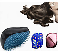 Spazzola e pettine Per capelli bagnati e asciutti Ammorbidisce e stira il capello Riduce i ricci Massaggio Leggero Antistatico Normale