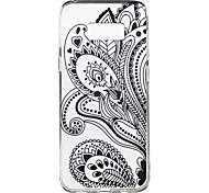 For Samsung Galaxy S8 Plus S8 Case Cover Half Flower Pattern High Penetration TPU Material Phone Case S7 edge S7 S6 edge plus S6 edge S6 S4 Mini S4