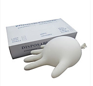 Basekey  White Click Powder Free Black Disposable Nitrile Gloves Tattoo Mechanic Boxed 100