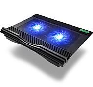 Verstellbarer Ständer MacBook Laptop Tablet PC Stehen Sie mit Kühlventilator Metall