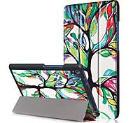 Pu copertina per lenovo tab3 tab 3 8 plus 8703x tb-8703f p8 con protezione dello schermo