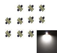 10Pcs 31MM 16*2835 SMD LED Car Light Bulb White Light DC12V