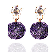 3 Colors Hot Summer Bohemia Fashion Elegant Rhinestone Ball Drop Earrings For Women Fine Jewelry Accessories Gift