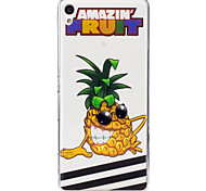 For Sony Xperia XA M2 Case Cover Pineapple Pattern Painted High Penetration TPU Material IMD Process Soft Case Phone Case