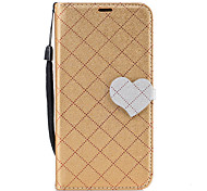 For Samsung Galaxy J7(2017) J5(2017) Diamond Pattern Heart Magnetic Buckle PU Leather Material Wallet Function Phone Case For J510 J310 J3