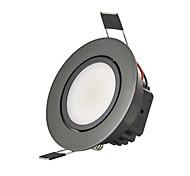 3W 2G11 LED даунлайт Утапливаемое крепление 1 COB 250 lm Тёплый белый Холодный белый Регулируемая Декоративная AC 220-240 AC 110-130 V1