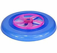 1PCS Colorful Spin LED Light Outdoor Toy Flying Saucer Disc Frisbee UFO Kid Toy Ramdon Color