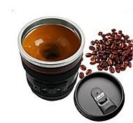 1шт эмуляция камеры объектив нержавеющая сталь внутренняя кухня обеденный бар домашний офис молочный чай кофе самовозбуждение кружка