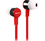SENICCMX SC2011 Mobile Earphone for Cellphone Computer In-Ear Wired Plastic 3.5mm Noise-Cancelling