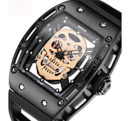 Skull Sport Watch Military Watch Cool Skeleton Watch Fashion Watch Wrist watch Clock Bracelet Watch Unique Creative Watch Casual