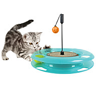 Cat Toy Pet Toys Interactive Scratch Pad Durable Paper Plastic