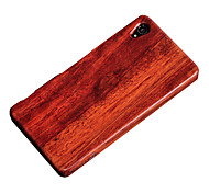 CORNMI For Sony Xperia Z3 Wood Bamboo Cover Case Cell Phone Wooden Houising Shell Protection