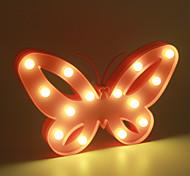 1pc 3d lumière de nuit lampe LED en plastique chambre d'enfant chambre à coucher lampe de chevet décoration de maison de mariage