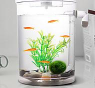 Оформление аквариума Мини аквариумы ОрнаментыЭнергосберегающие Бесшумно Нетоксично и без вкуса Стерилизатор Искусственная С