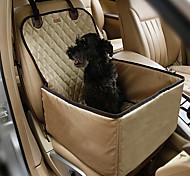 Кошка Собака Чехол для сидения автомобиля Животные Коврики и подушки Компактность Двусторонний Дышащий СкладнойЦвет отправляется в