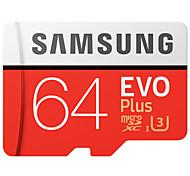 Samsung 64gb micro sd card tf карта памяти uhs-i u3 class10 evo плюс 100mb / s