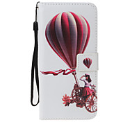 For Samsung Galaxy S8 S8 Plus Case Cover Balloon Girl Pattern PU Material Painted Card Wallet Stent All-Inclusive Phone Case S7 S7 Edge