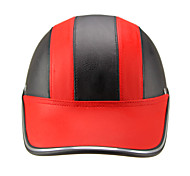 Motor Helmet Baseball Cap Style Safety Hard Hat Anti-UV  RedBlack