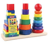 Costruzioni per il regalo Costruzioni Quadrato Circolare Cilindrico Da 2 a 4 anni Da 5 a 7 anni Da 8 a 13 anni Giocattoli