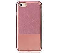 Для Покрытие Полупрозрачный Кейс для Задняя крышка Кейс для Один цвет Мягкий TPU для AppleiPhone 7 Plus iPhone 7 iPhone 6s Plus iPhone 6
