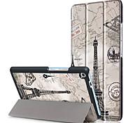 Cubierta de la caja de impresión para lenovo tab3 tab 3 7 más 7703 7703x tb-7703x tb-7703f con película de pantalla