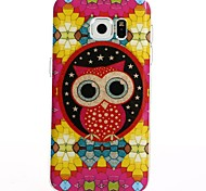 For Galaxy S8 Plus S8 Cartoon Red Owl TPU Protection Back Cover Box S7 Edge S7