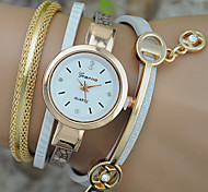 Women's Fashion Watch Bracelet Watch Quartz Colorful Leather Band Bohemian