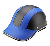 Motor Helmet Baseball Cap Style Safety Hard Hat Anti-UV  BlueBlack