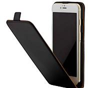 Для iphone 7 7 плюс кристалл зерна pu кожа с флип вверх и вниз 6s 6 плюс se 5s 4s