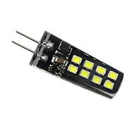 3W G4 LED Doppel-Pin Leuchten 16 SMD 2835 200-300 lm Warmes Weiß Natürliches Weiß Weiß Dekorativ V 1 Stück