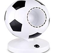 творческий новый футбольный болельщик мини покидает рабочий стол офиса студент USB-вентилятор летом