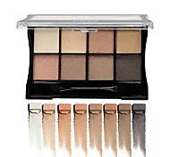 1Pcs Brand Eye Cosmetics Makeup Eyeshadow Naked 8 Colors Glitter Matte Eye Shadow Palette Make Up Eye Shadow Cosmetic With Brush