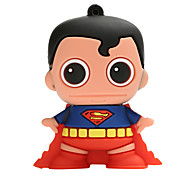 New Cartoon Creative Superman USB2.0 128GB Flash Drive U Disk Memory Stick