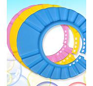 Soft Adjustable Elastic Plastic Shower Cap For Children  (Random Colors)