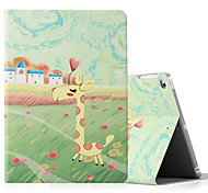 Per iPad ipad (2017) ipad air 2 custodia in pelle ipad con telaio flip modello cassa pieno corpo animale hard pu leather