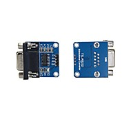 Chip de transferência max232cse rs232 para módulo de conversor ttl com placa serial (2pcs)