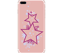 Per Custodie cover Transparente Fantasia/disegno Custodia posteriore Custodia Geometrica Morbido TPU per AppleiPhone 7 Plus iPhone 7
