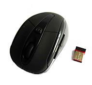 Бизнес-комфорт 2.4g беспроводная черная мышь