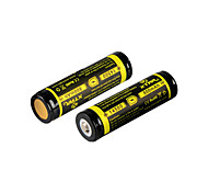 2PCS XTAR 14500 800mAh 3.7V 2.96Wh Li-ion Rechargeable Battery